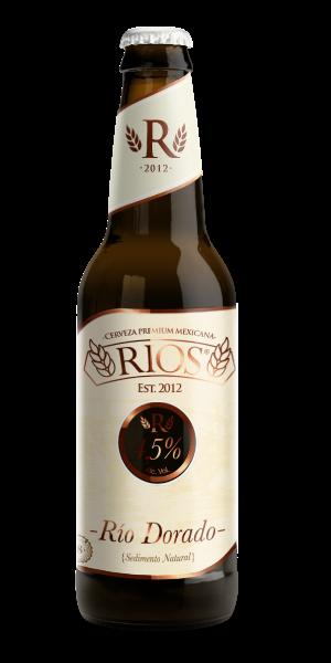 Rio Dorado - Blonde Ale, Cerveza Rios, cerveza artesanal