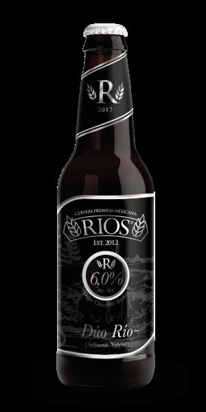 Duo Río - Stout, Cerveza Rios, cerveza artesanal, doble chocolate