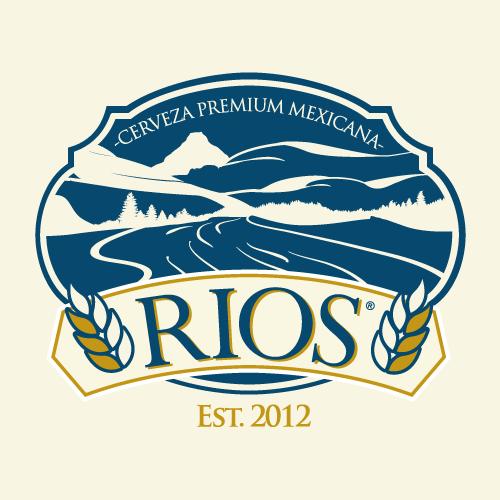 Logo oficial, cervecería rios