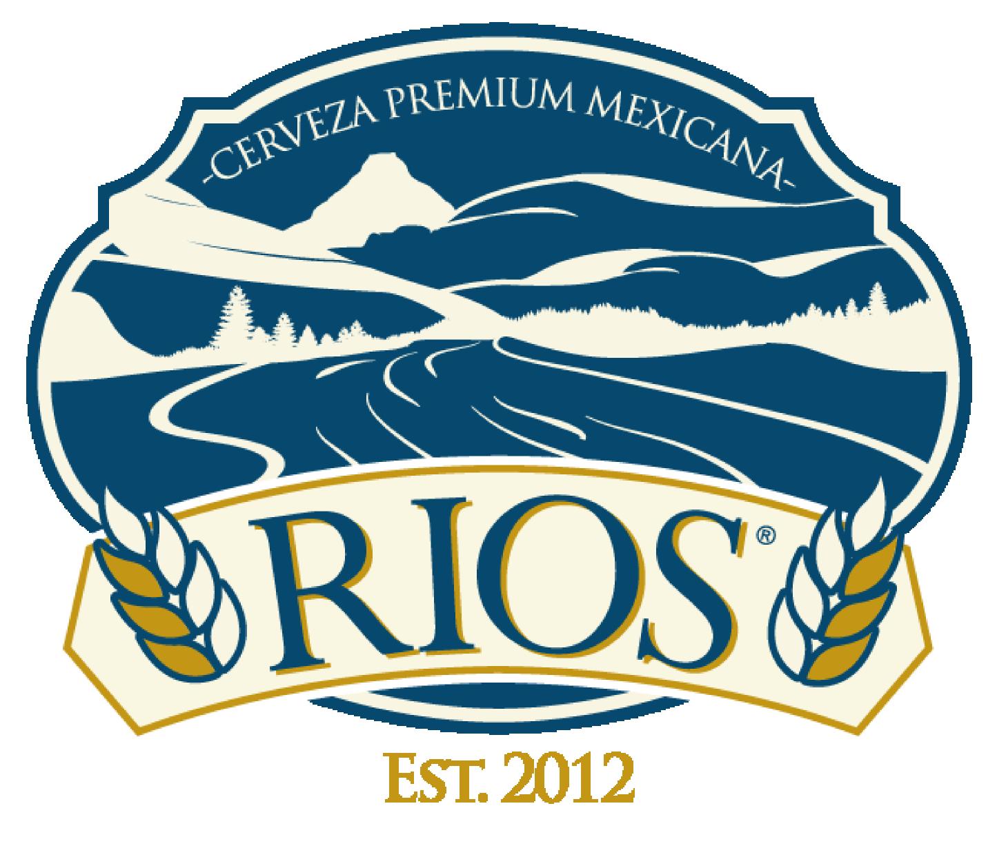 Logo de Cerveza Ríos, cerveza artesanal