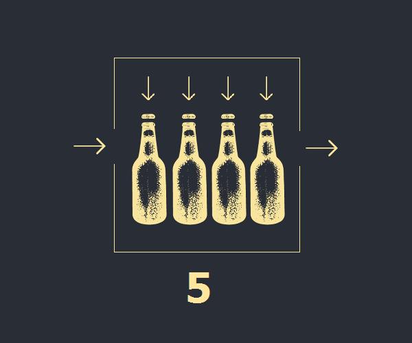 embotellado de cerveza, cerveza rios, cerveza artesanal queretana