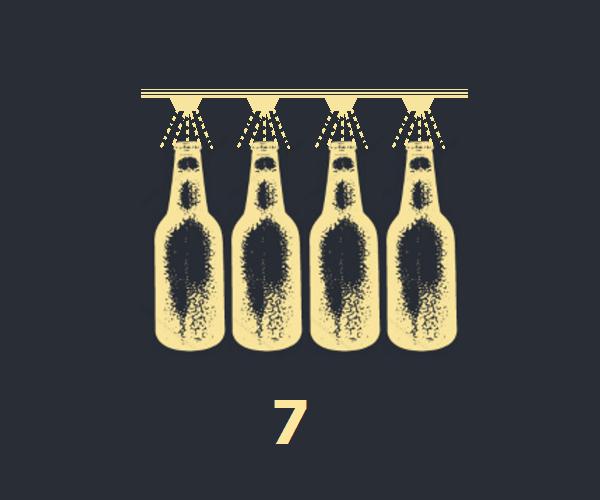 Pasteurización de cerveza artesanal, cerveza ríos