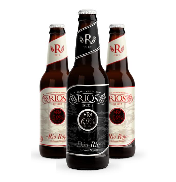 Cerveza RIOS, Rio Rojo, Dúo Río